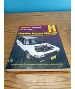 Repair Manual Haynes 92085 for Toyota Tercel (1987-1994) - $8.42