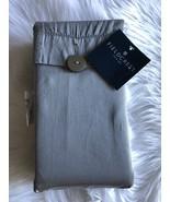 Fieldcrest Gray Cal King Bedskirt 100% Cotton Brand New - $17.81