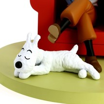 Tintin red armchair resin statue NEW Icons collection Tintin image 4