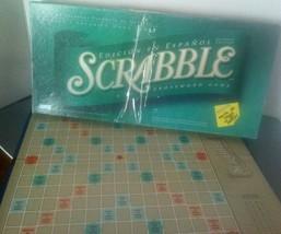 Scrabble Crossword Board Game Spanish Edition Edicion En Espanol 2-4 Pla... - $19.75