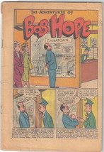 The Adventures of Bob Hope Comic Book #29 DC Comics 1954 Coverless - $9.74