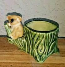 Wade Vintage 1950's Porcelain Posey Vase Koala Mid Century - $14.84