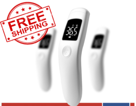 Non Contact Contactless Medical Infrared Forehead Thermometer Baby Kids ... - $34.60