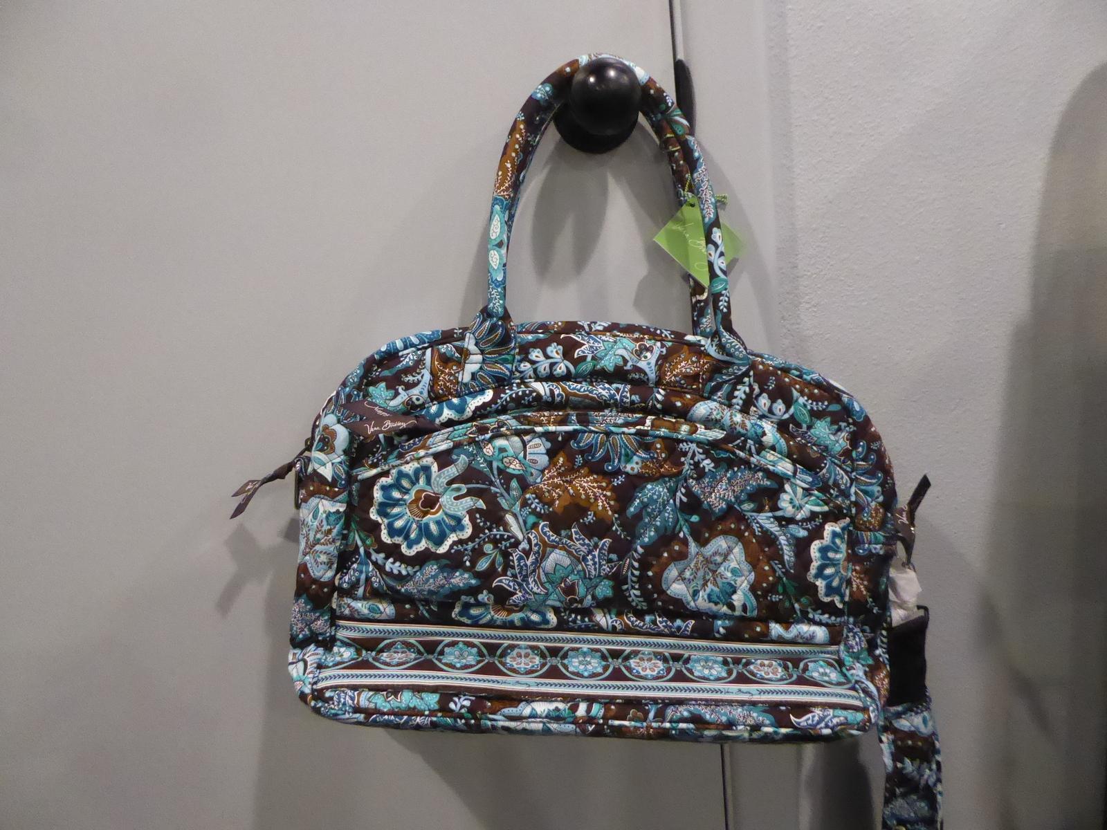3955ca9b87 NWT Vera Bradley Java Blue Metropolitan bag and 50 similar items. P1010895