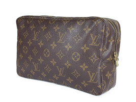 LOUIS VUITTON TROUSSE TOILETTE 28 Monogram Canvas Cosmetic Pouch Bag LP2887 - $190.00