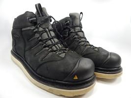Keen Glendale Size 11.5 M (D) EU 45 Waterproof Soft Toe Men's Work Boots Black