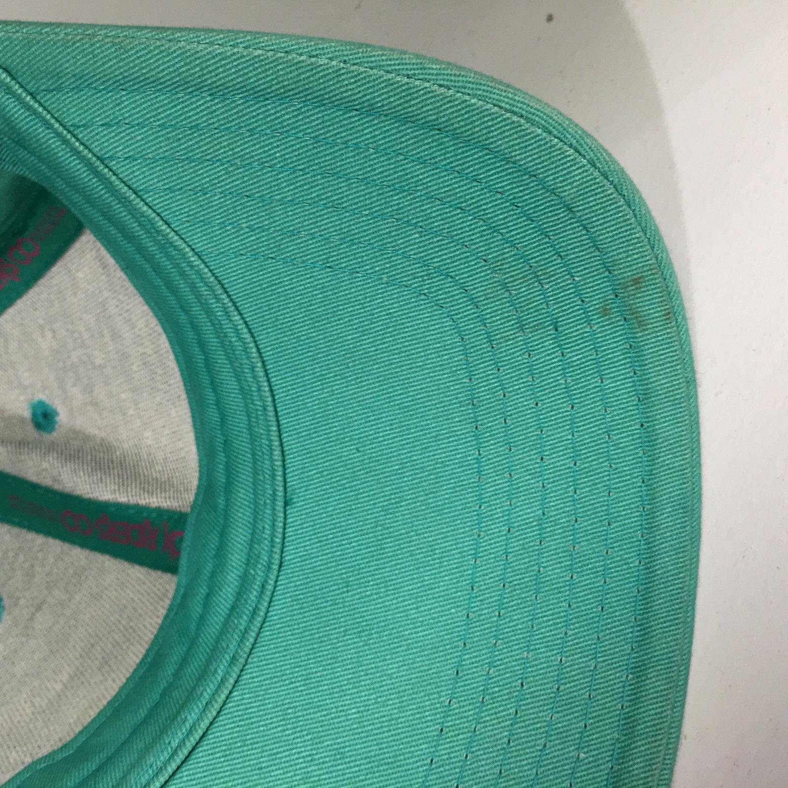 Fox Riders Green Snapback Baseball Cap Hat
