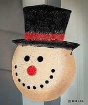 Snowman Holiday Christmas Porch Light Covers, Set of 2 - $35.31