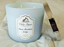 Bath & Body Works - SNOW MOUNTAIN LODGE - 3 Wick Scented Candle - $33.32