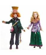 Disney Alice Through The Looking Glass Alice and Mad Hatter Doll 2-Pack - $64.52
