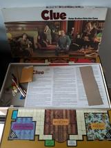 Vintage Clue Board Game 1972 Parker Brothers 99% Missing Detective Sheets - $16.78