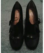 Nanette Lepore Dark Brown Patent Leather Pony Bootie Pumps Heels 7B - $102.95