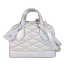 Louis Vuitton Malletage Dora Silver Crossbody bag - $1,599.00