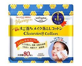 KOSE COSMEPORT softymo Cleansing Cotton (Honey mild)