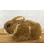 Vtg 90s America Wego Stuffed Animal Plush Toy Natural Laydown Bunny Rabb... - $26.72