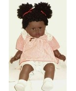 Zapf Creations Girl Doll Jessica African American Sleepy Eyes Vinyl Clot... - $284.99