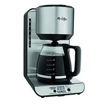 Mr. Coffee 12-Cup Programmable Coffeemaker, Stainless BVMC-FBX39 - $95.79
