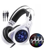 Stereo Gaming Headphones Best Deep Bass Game Headset With Mic LED Light ... - $28.99+