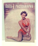 Amateur Screen and Photography Magazine October 1956 Bettie Page Nude - $49.99