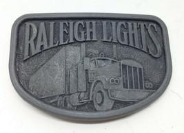 Vintage Raleigh Lights Cigarettes Tobacco Semi Truck Trucking 1970's Bel... - $4.99