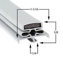 Commercial Refrigeration Gasket Glenco-Star Metal PTA1 Part# (SP-691-24) - $79.15