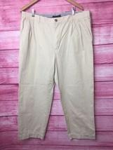Tommy Hilfiger Mens Size 40 / 30 Khaki Chino Pants Casual  - $24.05