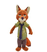 "Disney Store Zootopia 13"" Nick Wilde Plush - $18.65"
