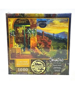 Mega Limited Ed Viktor Shvaiko 1000 pc Jigsaw Puzzle - Sunset Blaze Glue... - $24.50