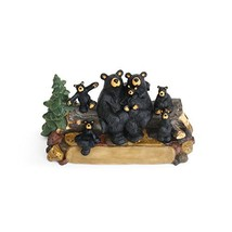 DEMDACO Bear Family Black Bear 4 x 8 Hand-cast Resin Figurine Sculpture - $75.35
