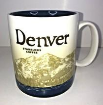 Starbucks Coffee Mug Global Icon Denver 2009 Discontinued Nice - $25.71