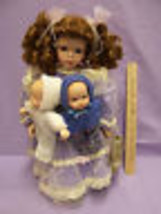 Seymour Mann Porcelain Doll Winona & Friends Angels Touch 2 Babies Sheena Easton - $32.87