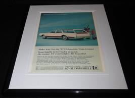 1967 Oldsmobile Vista Cruiser 11x14 Framed ORIGINAL Vintage Advertisement - $44.54