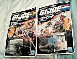 1987 GI Joe Factory sealed Motorized Action Pack lot for POM-POM Gun + H... - $75.00