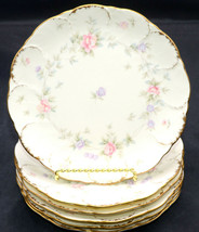 Mikasa Remembrance * 6 BREAD & BUTTER PLATES * Small Flowers, Excellent! - $41.57