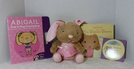 Abigail Hallmark Interactive Plush Story Buddy Bunny Rabbit + Book Cd Co... - $29.47
