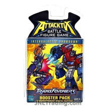 Year 2006 Attacktix Battle Game Transformers Booster Pack w/ 2 Random Figures - $32.99