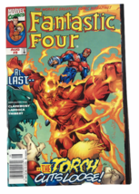 Marvel Comics Fantastic Four August 1998 3rd Series The Torch Cuts Loose - $4.94