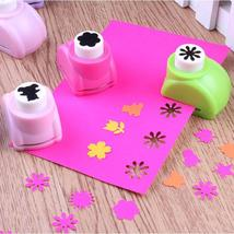 1 PCS Kid Hole Punch Mini Printing Paper Hand Shaper Scrapbook Tags Card... - $3.99