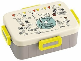 New Skater 4 Point Lunch Box 650 ml Snoopy Friend PEANUTS Made in Japan ... - $42.06