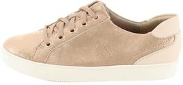Naturalizer Lace-Up Leather Sneaker Morrison Tiramisu 7 NEW S9185 - $63.20 CAD