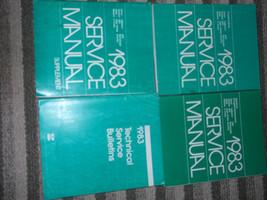 1983 Plymouth Gran Fury Shop Repair Service Manual Set Factory Mopar 4 Books Oem - $101.19