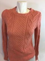 Gap Women Blouse Salmon Color Size Small Long Sleeve Bin32#10 - $9.50