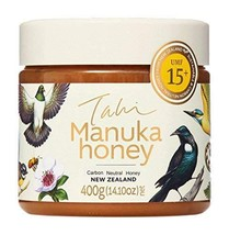 Manuka Honey UMF15+ eco-friendly, raw and pure 400gram 14.1oz by Tahi - $115.94