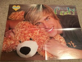 Cody Linley Selena Gomez teen magazine poster clipping Wizards Popstar J-14