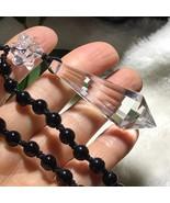 Clear Natural Quartz Crystal 12 Sided Pendulum Pendant Reiki Healing J03... - $12.82