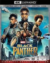 Black Panther [4K Ultra HD+Blu-ray, 2018]