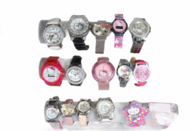 Large Sanrio Hello Kitty Assorted Jewelry Accessories Lot Watch Necklace Bank image 7