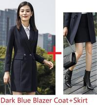 Women's Fashion Career Apparel High Quality 3 Piece Formal Business Pant Suits image 7