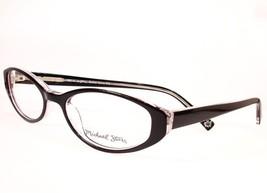 Michael Stars Eyeglasses Boho Chic Black Ice Women 50-17-140 New Frame - $58.41