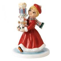 Royal Doulton Nostalgic Christmas Wrapped and Ready Figurine Retro NF 00... - $84.15